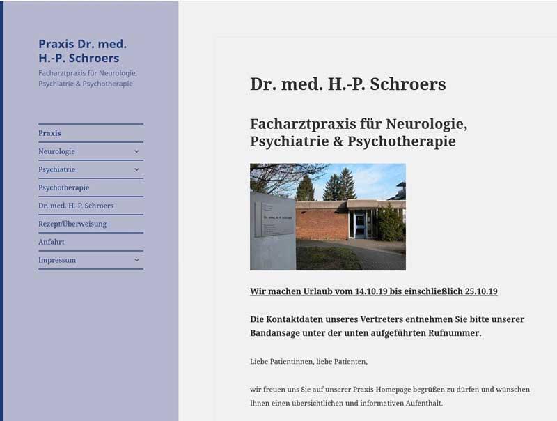 Neurologische Praxis Dr. med. H.-P. Schroers