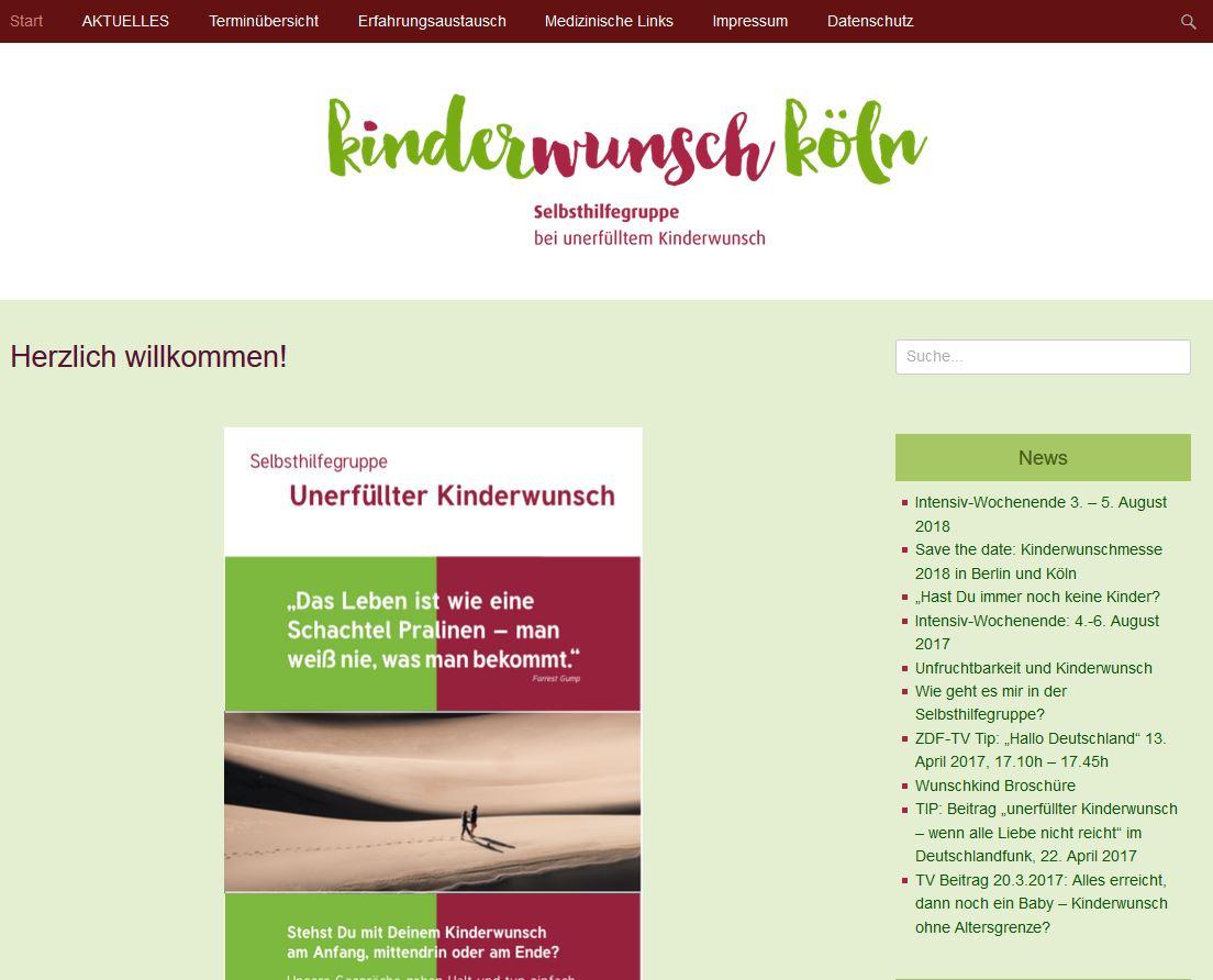 """Selbsthilfegruppe """"Kinderwunsch Köln"""""""
