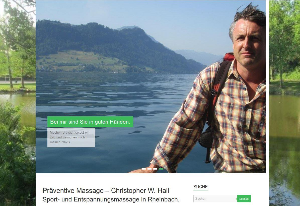 Massagepraxis Christopher W. Hall